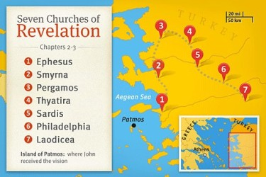 Seven Churches Map